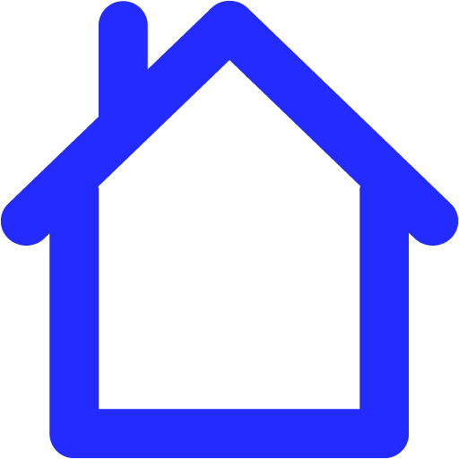 home 02 blue - image, pic, icon, png
