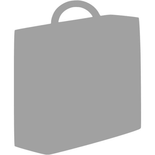 briefcase 03 gray - image, pic, icon, png