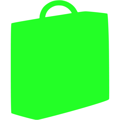briefcase 03 green - image, pic, icon, png