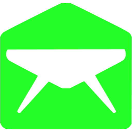 email 010 green - image, pic, icon, png