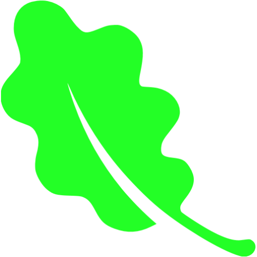 leaf 02 green - image, pic, icon, png