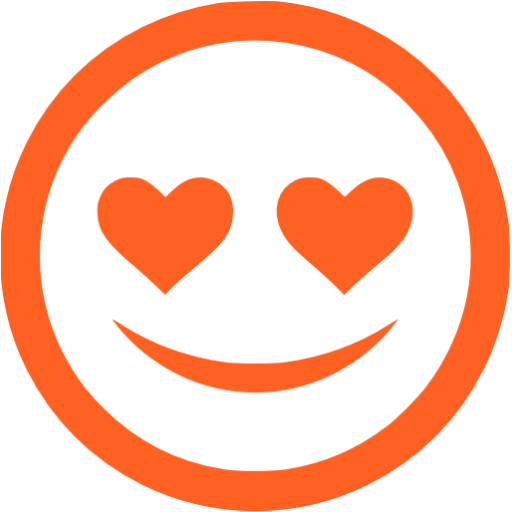 in love orange - image, pic, icon, png