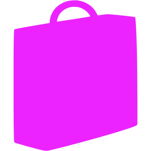 briefcase 03 purple - image, pic, icon, png