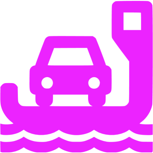 ferry purple - image, pic, icon, png