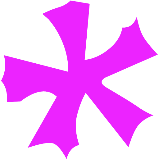 star 010 purple - image, pic, icon, png