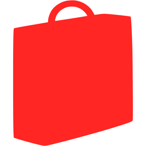 briefcase 03 red - image, pic, icon, png