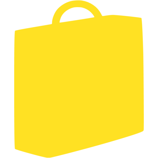 briefcase 03 yellow - image, pic, icon, png