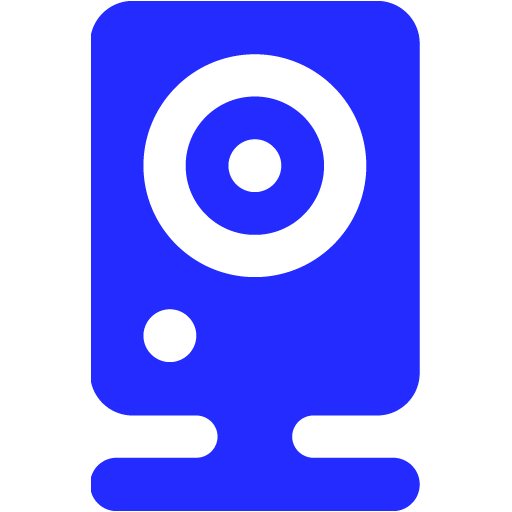 webcam 06 blue - image, pic, icon, png