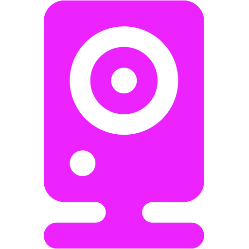webcam 06 purple - image, pic, icon, png